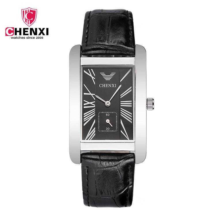 Hot 2016 Man Business Watches Brand CHENXI Leather Strap Silver Dress Quartz Wrist Watches Sport Watch for Men Watches 088A<br><br>Aliexpress
