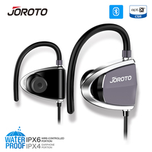 JOROTO Bluetooth Earphone Sport Headset Wireless Headphones with Microphone Sweatproof Headphone Calls for iPhone Xiaomi Android(China)