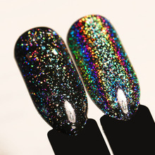 0.2g Galaxy Holo Flake Rainbow Laser Glitter Nail Art Sequins Holographic Flakies Powder Paillettes