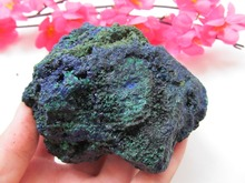 100%Pure mineral crystal mineral azurite specimenOre Energy Stone Raw Mineral Specimens 466g