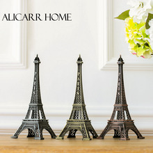 Interior decoration customized version of Eiffel Tower in Paris arts and Crafts Ornament Decoration model(China)