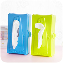 Creative home tissue box penguin coin flip, car tissue pumping storage glove box