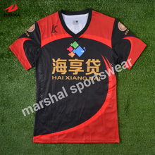 wholesale price hotsale design high-end OEM full sublimation soccer shirt custom