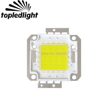 Topledlight Customize Bridgelux 45MIL Chip 12V 20W 30W 50W High Power Led Emitter Lamp Light 6000K White 3000K Warm White