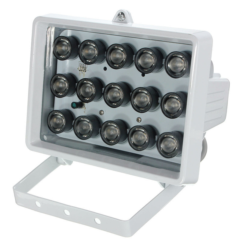 Safurance 328ft 15LED 12V Night Vision Lamp IR Illuminating Infrared Light Security CCTV Camera Surveillance Home Safety<br>