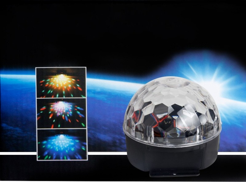 RGB Effect Light 18W Crystal Magic Ball Led Stage Lamp Disco Laser Light Party Lights Sound Control Christmas KTV Light<br><br>Aliexpress