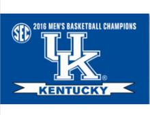 Kentucky Wildcats Flag 3ftx5ft Banner 100D Polyester Flag metal Grommets(China)