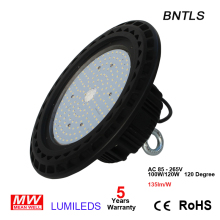 100W 120w UFO LED high bay light 6000K 15000lm IP65 Retrofit highbay lamp Fixture(China)