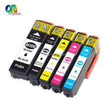 5-pack Compatible for 410XL 410 XL Ink Cartridges work with Epson XP-830 XP-630 XP-640 XP-530 XP-635 Printer(China)