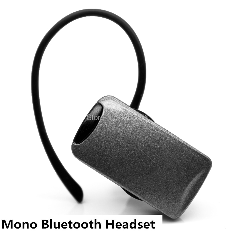 Free shipping New Wireless with mic headset Mono Bluetooth earphone for smart phones, Silver 2 pcs/lot<br><br>Aliexpress