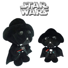 Free Shipping 2016 New Arrival Star Wars Dolls The Force Awakens 13cm Star War Darth Vader Toy White&Black Soldiers Plush Toys