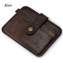 Mans Wallet Slim Credit Card Holder Mini Wallet ID Case Purse Bag Pouch Quality Card Holder Male Purses Bags carteira On Sale