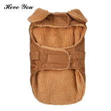 Heve You Clothes For Small Dogs Outfits For Dog Clothing Warm Pet Coats Jacket Pet Dog Clothes Puppy Chihuahua Clothes XS~XL(China)