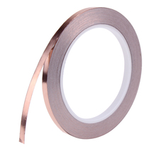 20m X 6mm Single Adhesive Copper Foil Tape EMI Shielding Guitar Slug Snail Barrier Single Conductive Adhesive for Guitar(China)