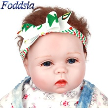 Foddsia 2pcs/lot Girls Flower Headband Newborn Photography Props Bow Headband Children Christmas Hair Accessories CH97
