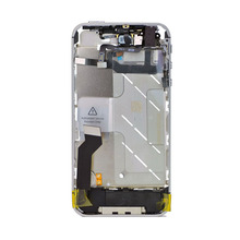 1 piece Complete Middle Board Mid Frame Bezel with Small Parts Assembly for iPhone 4S