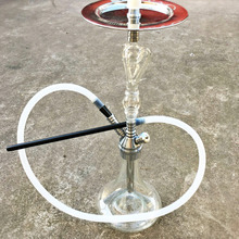 54 cm  Special Glass Charcoal Holder Shisha  Filter Pipe Accessories Narguile  Head Smoke Glass Hookah  Send LED Lights