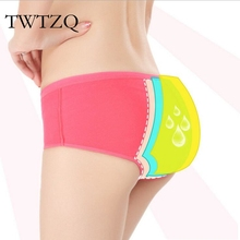 Buy TWTZQ Women Menstrual Sanitary Period Panties Leak Proof Lingerie Seamless Underwear Women Girl Briefs Calcinha 5NK090