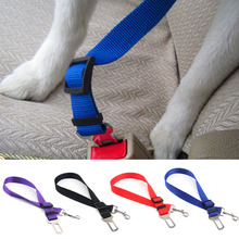 Good Qualified Vehicle Car Seat Belt Seatbelt Harness Lead Clip Pet Cat Dog Safety Quick Release Nylon Belt Seatbelt Dog Harness(China)