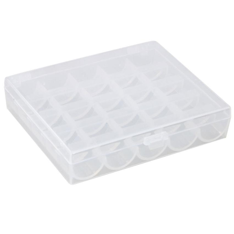 New Creative Cute  25 Bobbins Spool Storage Case Box Container Storage Wear-resistant Durable HOT Easy To Use box C0307#0       02