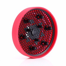 Silicone Hair Dryer Diffuser Cover Foldable Hairdryer Blowers Diffuser Fan Cover Heat Diffusing Professional Hair Styling Tool(China)