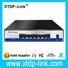 8 port Gigabit Switch POE 4 port IEEE802.3af/at 48v2a adapter power supply for 1080P HD IP Camera ONVIF NVR CCTV Security System
