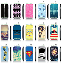 Cool Style The Minions Cartoon Panited White Hard Plastic Case Cover for iPhone 3 3GS