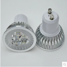 gu10 led 3W  5W Gu 10 LED Bulb 110V 220V gu10 led Dimmable LED Spotlights Lampada GU 10
