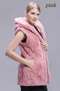 rex rabbit fur vest color 3
