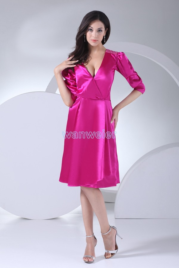 free shipping 2013 formal gowns modest dresses with sleeves vestidos ...