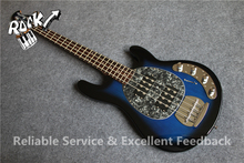 Good Cheap Price 4 Strings Music man Bass Guitar StingRay Ball China Musical Instrument Factory(China)