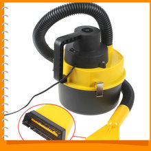 Wet & Dry 12V Portable Auto Car Dust Vacuum Cleaner Handheld Mini Car Vacuum Cleaner with Brush / Crevice / Nozzle Head