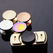 Buy Leisure Puzzle Entertainment Fingertips Gyro Copper 606/608/R188 Bearing Thumb Button Set/Finger Cap Fidget Hand Spinner EDC for $1.22 in AliExpress store