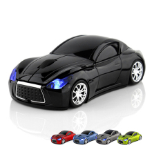 Computer Mouse Infiniti Sports Car 2.4GHz Wireless gamer Mause 1600DPI Optical Gaming Mice for PC Laptop