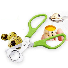 1pc Pigeon Quail Egg Scissors Cracker Opener Bird Eggs Cutter Stainless Steel Blade Tool Household Scissors Kitchen Clipper(China)