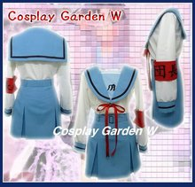 Free Shipping Cosplay Costume Melancholy of Haruhi Suzumiya School Uniform New in Stock Retail / Wholesale Halloween Christmas