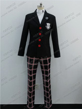 PS3 PS4 Persona 5 Protagonist Cosplay Costume Anime Custom Made Uniform