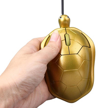 Malloom 2017 New Arrival Mouse Cute Design Golden Turtle USB 2.0 Wired Gaming Mouse Mice Adjustable For PC Laptop Computer Gamer
