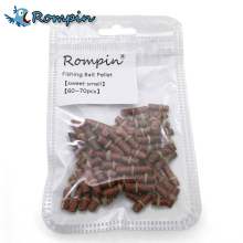 Rompin 60~70Pcs/bag Fishing carp bait live fishing bait Pellet Bait Smell Grass Fishy Carp Boilie Pellets Baits Lure(China)