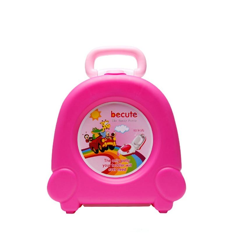Baby Toilet Cute Portable Travel Baby Potty Car Sq...