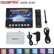 Tocomfree i928AC with free iks H.265 satellite receiver Open Amazonas61W and Star One C2 KU 70W Pay channel