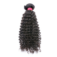 DLME 30inch Mongolian Kinky Curly Hair Jet Black Color Bundles 1 Piece 100G With Free Shipping Synthetic No Shedding