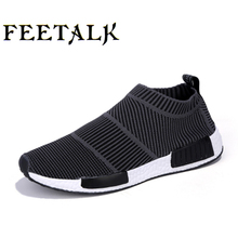 Large Size Sports Shoes 2017 new Brand Men Running Shoes Spring Zapatillas Walking Shoes Summer Sneakers Man Training Shoes hot(China)