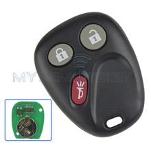 Remote key fob for GM GMC Hummer H2 Chevrolet Avalanche Cadillac Escalade 3 button 315mhz LHJ011 2003 2004 2005 2006 remtekey(China)