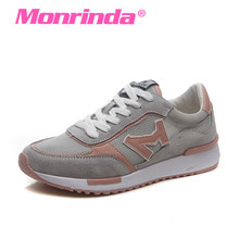 Monrinda 2017 Women's Running Shoes Autumn Light Sport Shoes Women Sneakers Breathable Non-slip Outdoor Jogging Athletic Shoes(China)