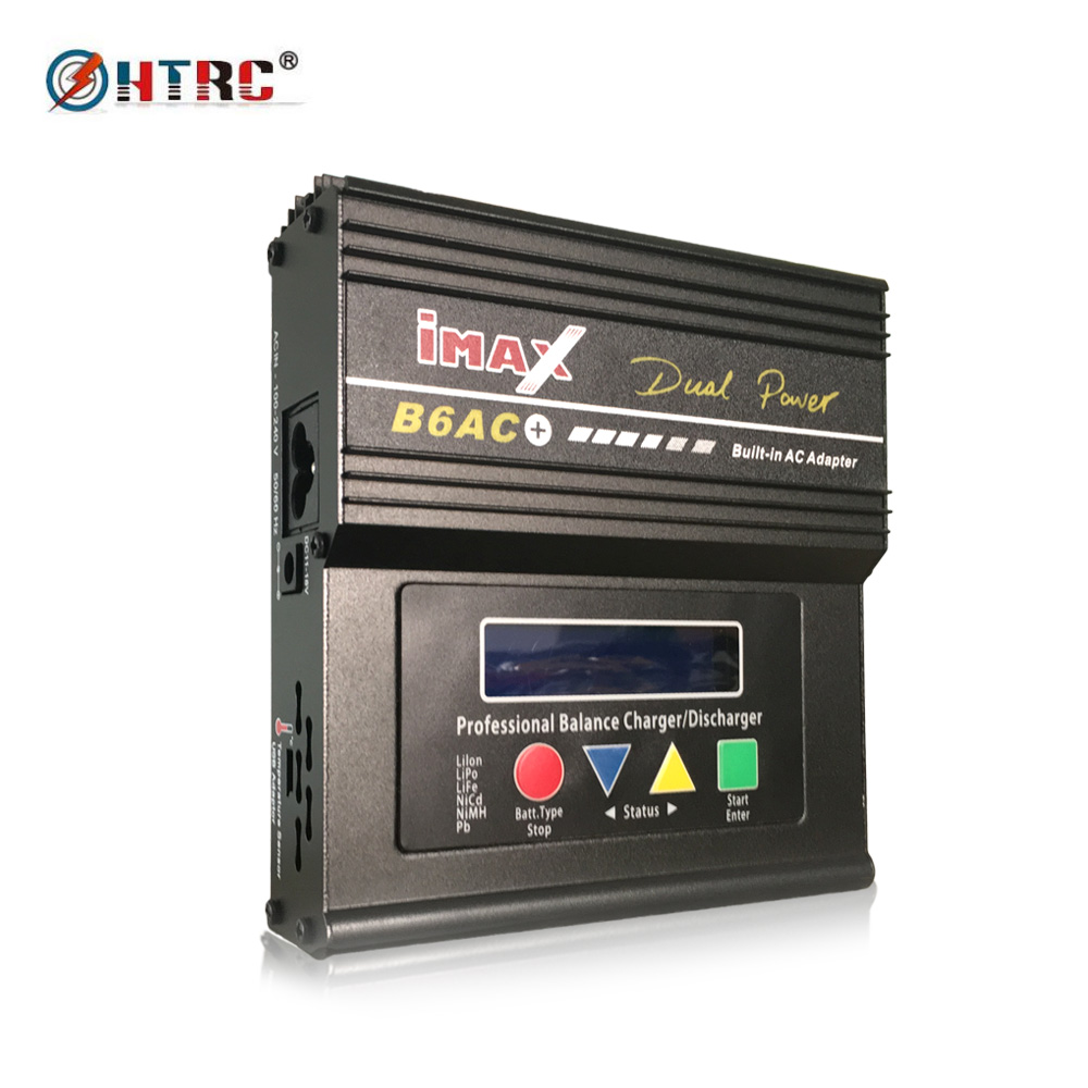 iMax B6AC+ AC DC Dual Power B6AC Plus 50W 5A RC Balance Charger Discharger for 1-6s LiPo/LiFe/Lilon Battery<br>
