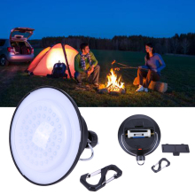 New 60 LED Portable Lanterns Outdoor Umbrella Night Lamp Camping Batteries Power Supplier(China)