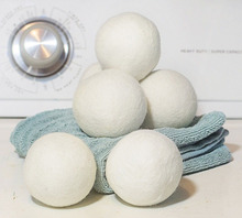 Wool Dryer Balls Extra Large100% Wool Fabric Softener Lower Energy Decrease Drying Time Laundry