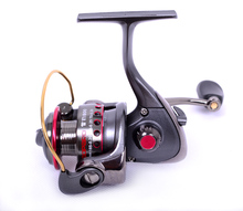 Small size spinning reel aluminum spool size 600 3 ball bearings fishing reel ice reel