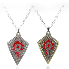 Factory Outlet Game Jewelry World of Warcraft Pendant Necklace For Men Women Gift